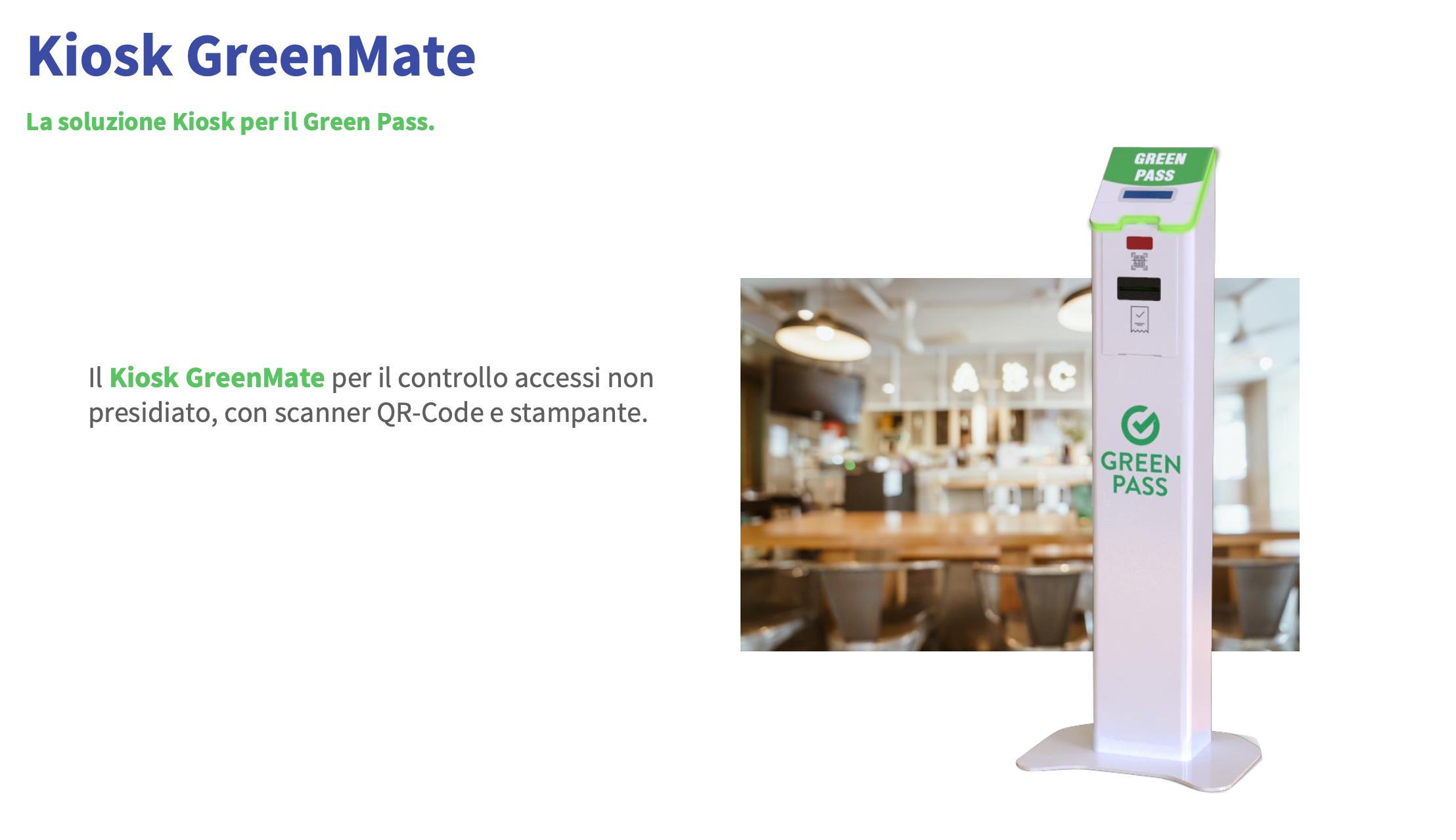 Kiosko GreenMate